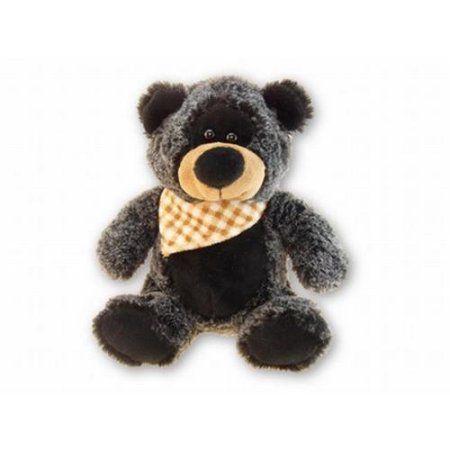 Super-Soft Plush - Sitting Black Bear, Multicolor
