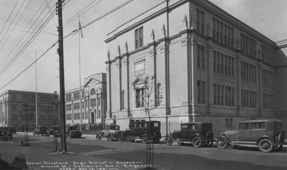 Grover Cleveland Hs 1931 Ridgewood Ny Nyc Life Grover