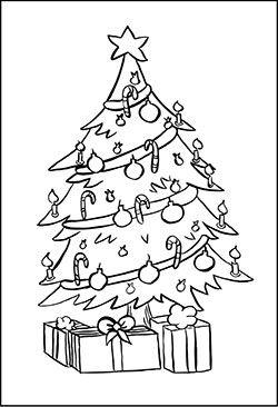 gratis malbild mit einem weihnachtsbaum ausmalbilder weihnachten pinterest weihnachtsb ume. Black Bedroom Furniture Sets. Home Design Ideas