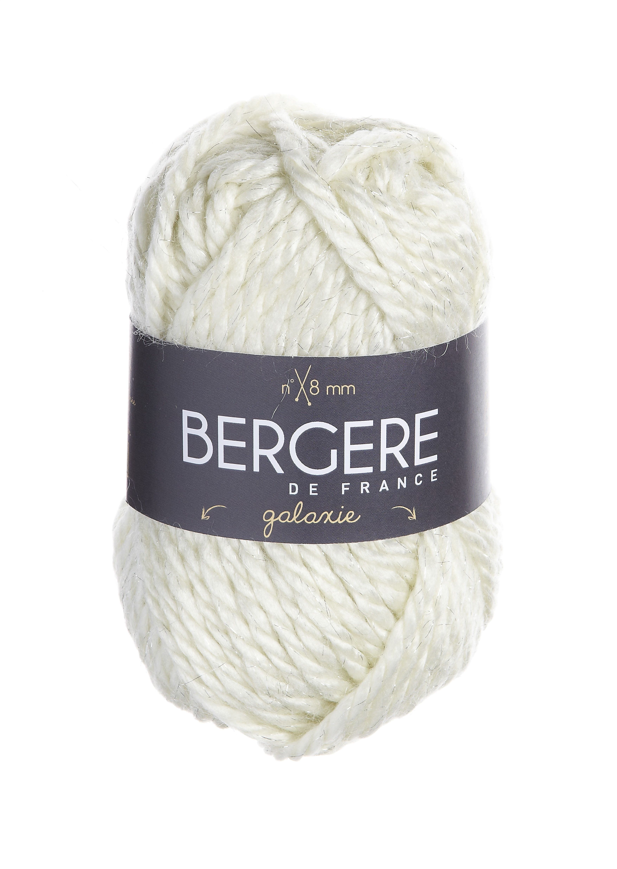 GALAXIE  Needles - Aiguilles 8  Crochet hook - Crochet 8  80% Acrylique - Acrylic  18 % Laine - Worsted wool  2% Polyester