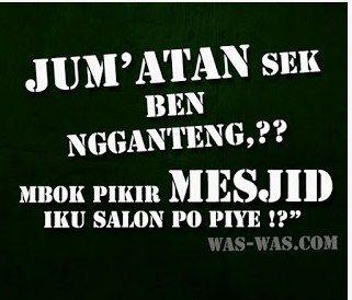 Gambar2 Lucu Bahasa Jawa Gokil Kocak Unik Aneh Untuk DP ...