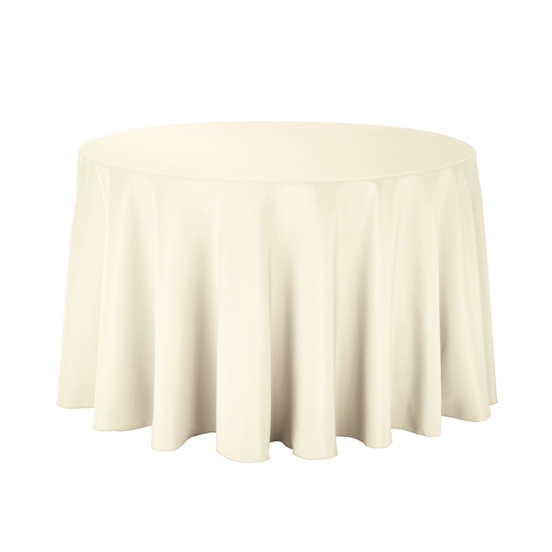 108 Inch Round Polyester Tablecloth Ivory Only 5 Each White Table Cloth Table Cloth Round Table Covers
