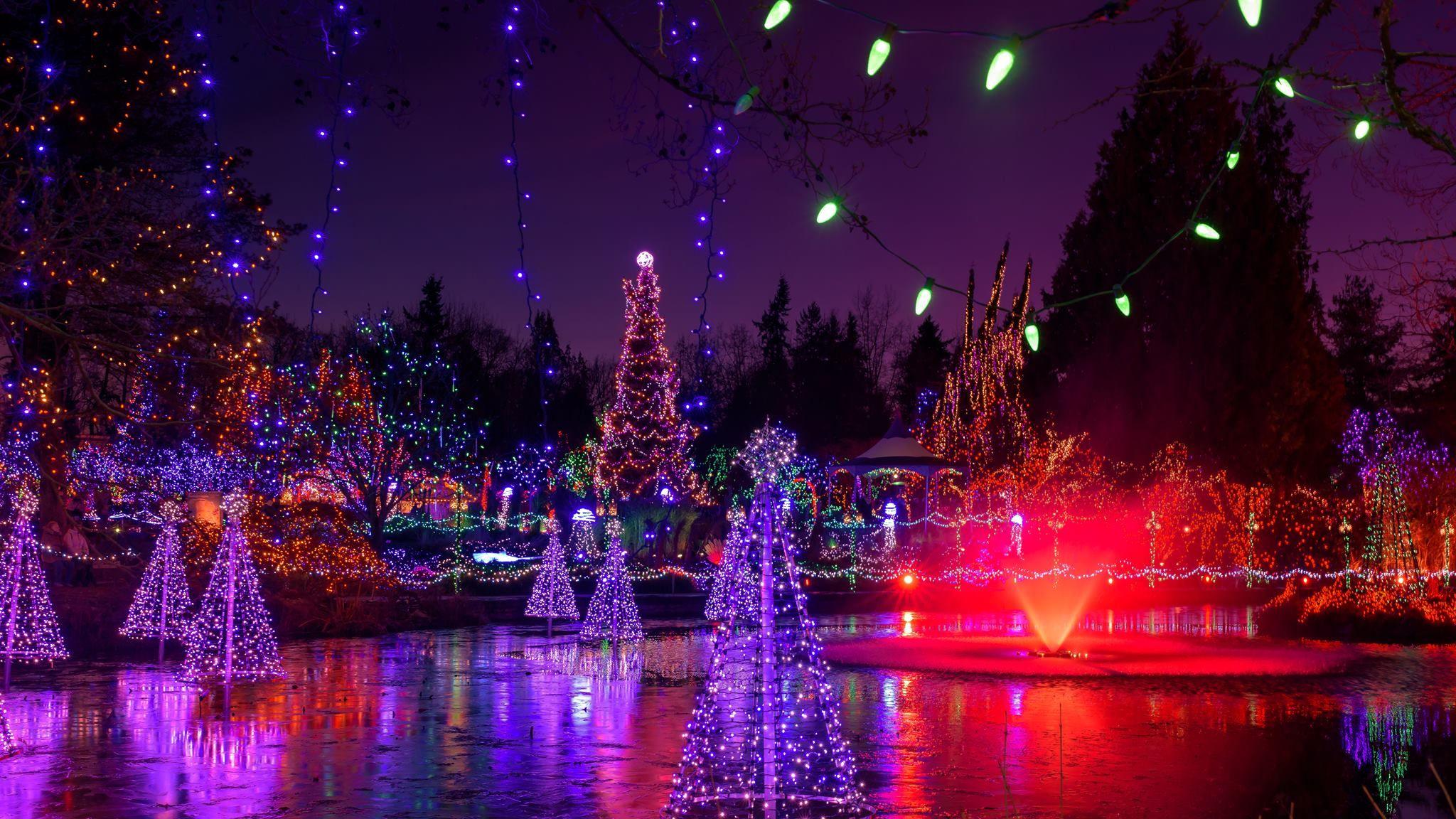 a3dcf38030df66ce1dbcb196d375efc2 - Van Dusen Botanical Gardens Christmas Lights