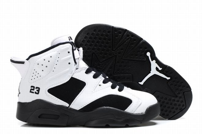 white black air jordan 6 kid on sale,cheap nike jordan vi for kids