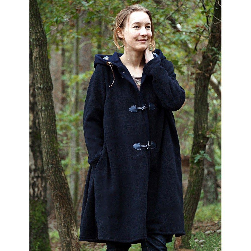 """GINGER"""" ist ein A-linienförmiger Mantel, der für jede Jahreszeit ..."""