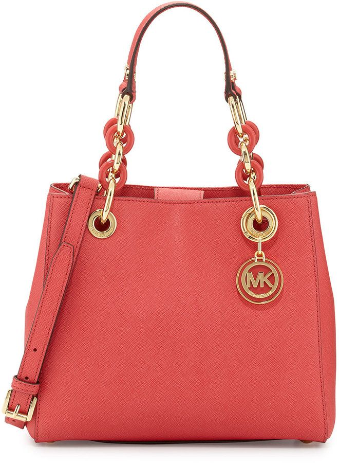 26f3d71f3eda9e The color of summer: Watermelon. MICHAEL Michael Kors Bag | Bling ...