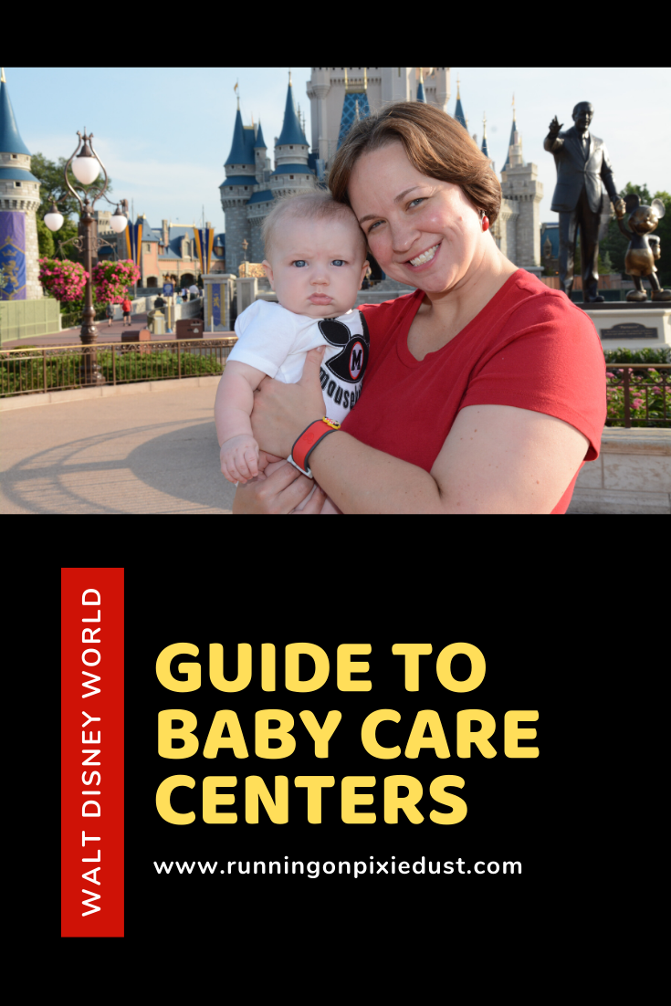 Traveling to the Walt Disney World Resort with an infant? Be sure to learn about the Baby Care Centers located in each of the four parks to help take care of your little ones during your visit! #DisneyParks #DisneySMC #DisneyWorld #Disney #DisneyKids #FamilyTravel #Travel