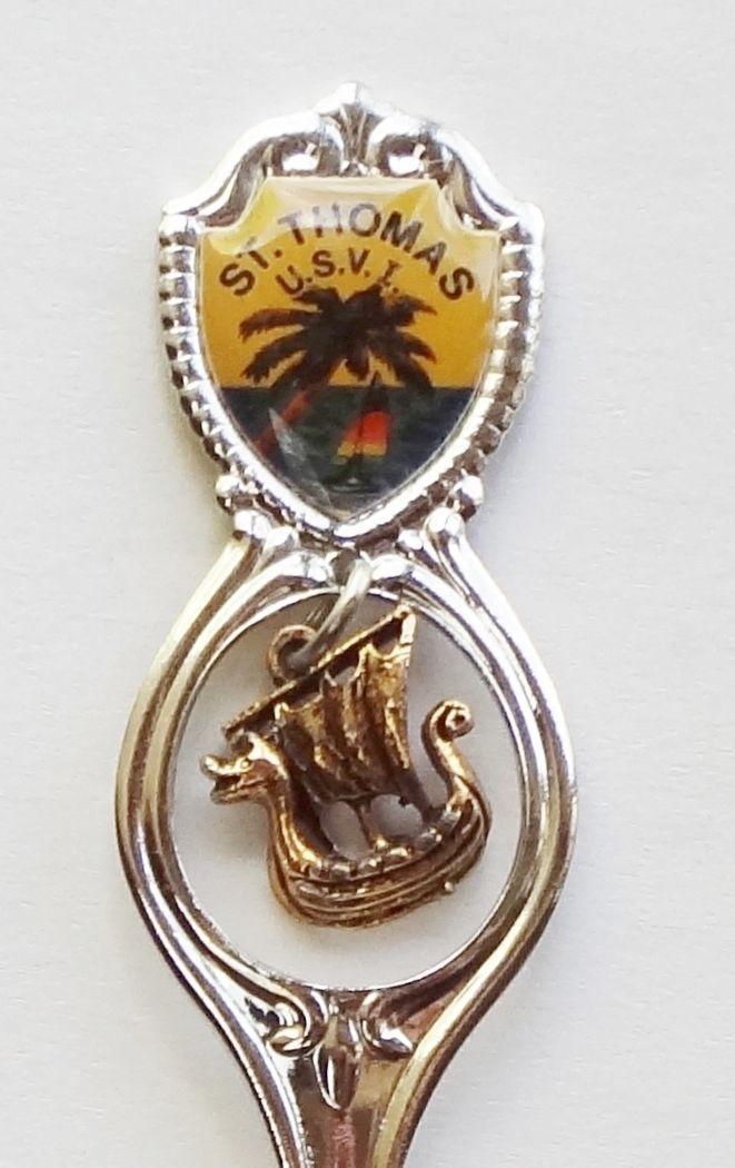 Collector Souvenir Spoon Virgin Islands St Thomas