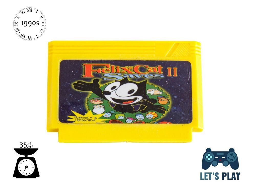 View Felix The Cat Nes Game Over Wallpapers