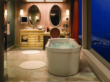 Wynn Macau Macau Five Star Alliance Luxury Hotel Bathroom Hospital Interior Design Hotel Interior Design