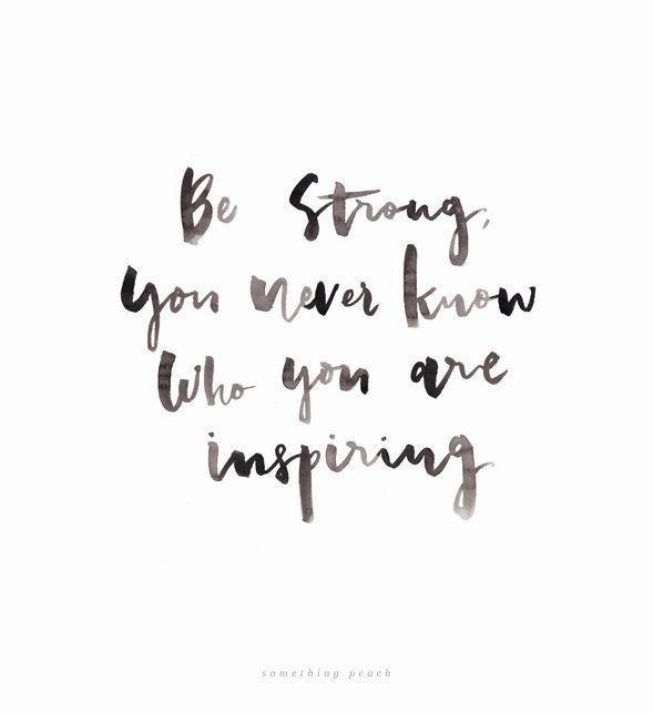 Somethingpeach motivational inspiring quote brush