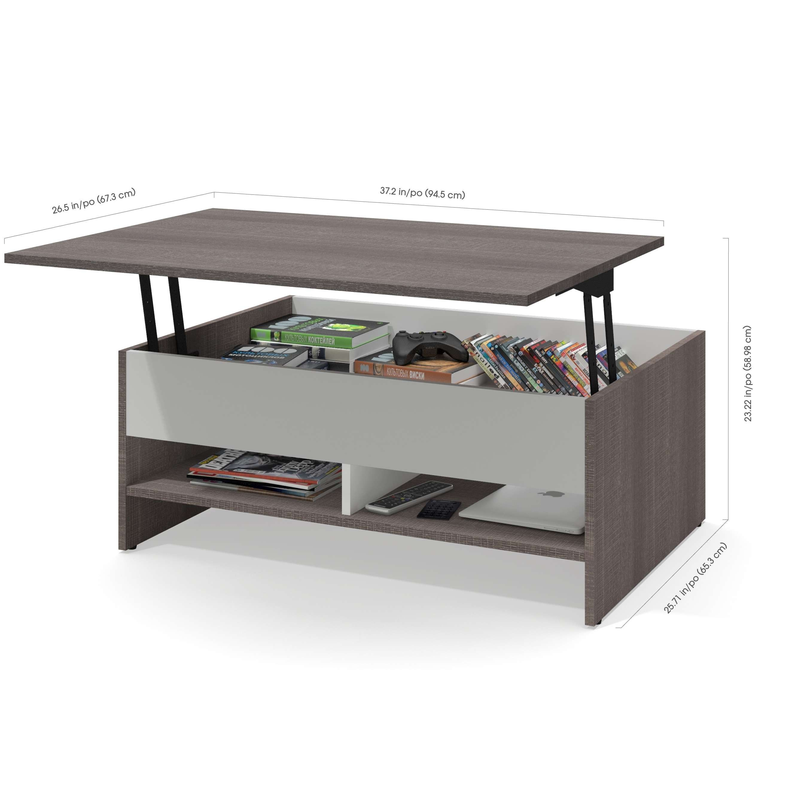 Coffee Table With Raisable Top Collection Lift Top Coffee Table With Drawers Fresh Bestar Sma Meja Kopi Ide Dekorasi Rumah Mebel