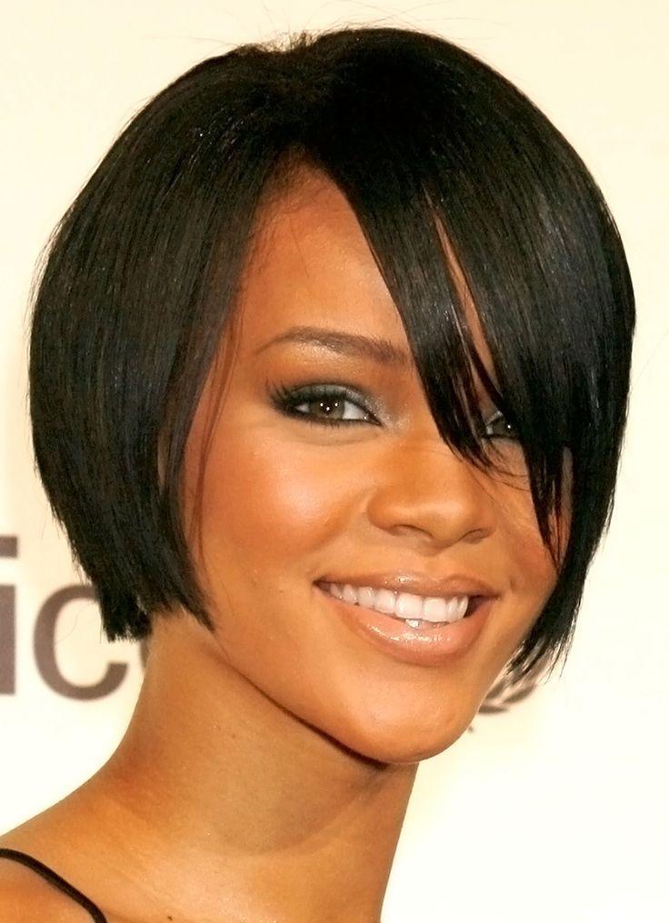 Rihanna Hairstyles Entrancing Rihanna Haircuts 118  Modèle Para Peruca  Pinterest  Rihanna