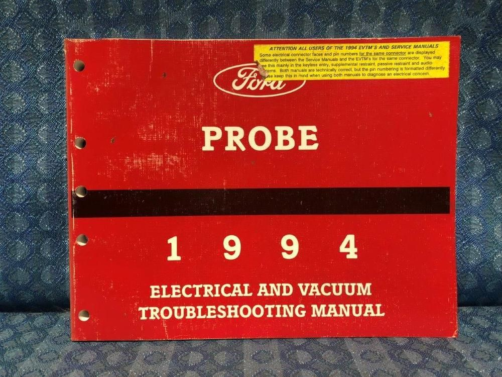 Details About 1994 Ford Probe Oem Electrical Vacuum