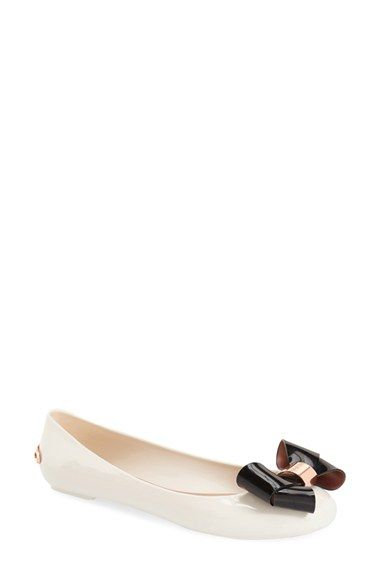 4686e79d28b02e TED BAKER  Faiyte  Bow Jelly Flat (Women).  tedbaker  shoes  flats ...