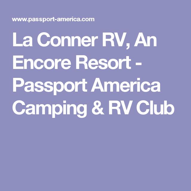 La Conner RV, An Encore Resort - Passport America Camping & RV Club
