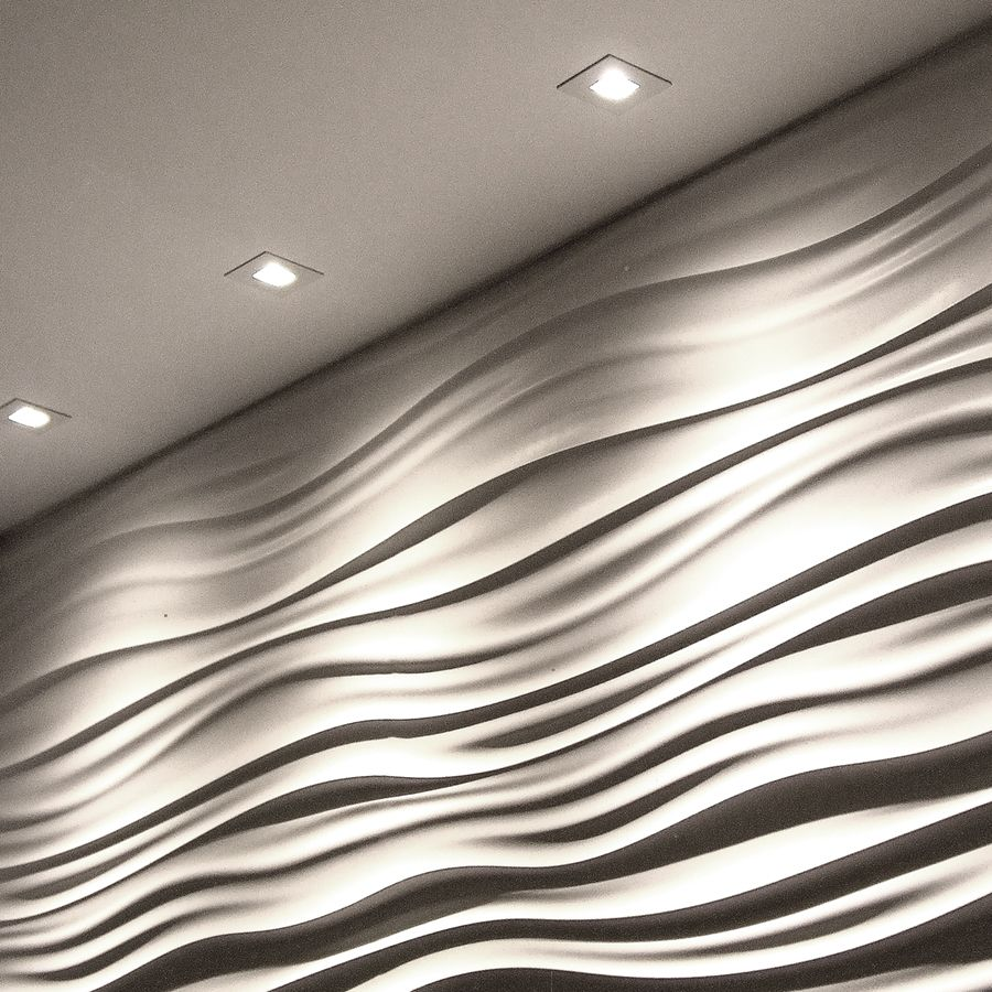 Beautiful Square Wall Wash | WAC Lighting Co., Recessed Fixtures Three Trim Colors.