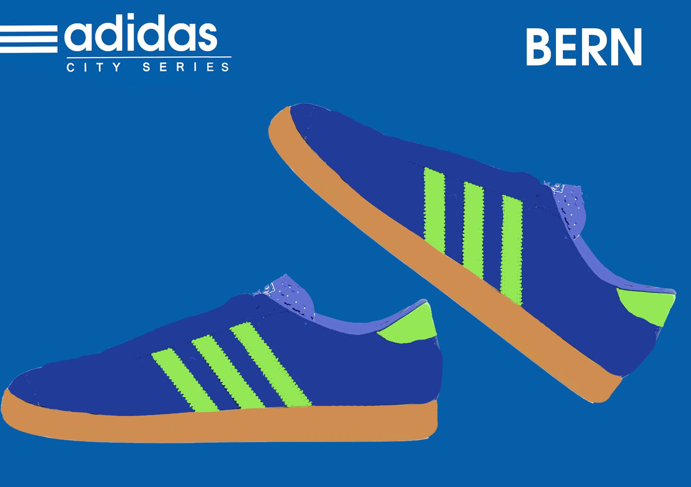 Adidas X Size 2014 City Series Bern Adidas Poster Adidas Art