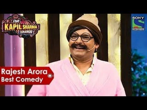 rajesh arora - kapil sharma as rajesh  arora special | the kapil sharma ...
