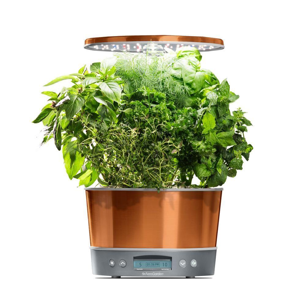 Aerogarden Harvest Elite 360 Copper Home Garden System 400 x 300