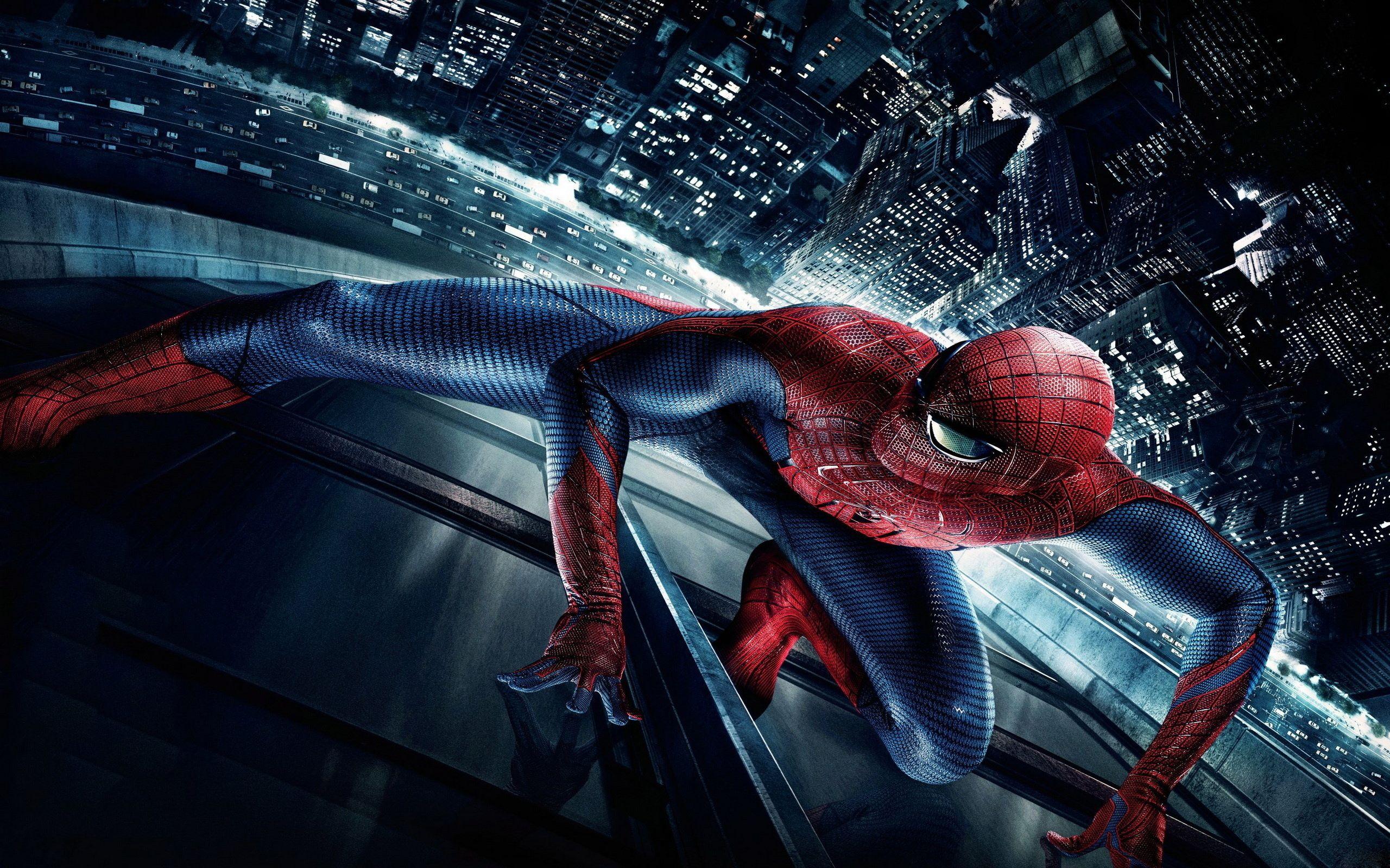 Amazing Spiderman Super Hero Desktop Wallpaper 2560x1600 Via Classy Bro
