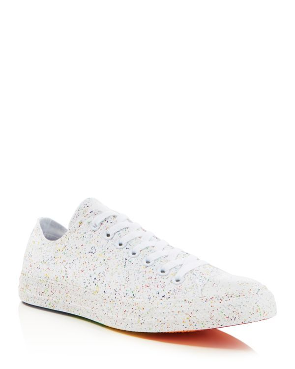 aed0017be1f3 Converse Chuck Taylor All Star Rainbow Lace Up Sneakers
