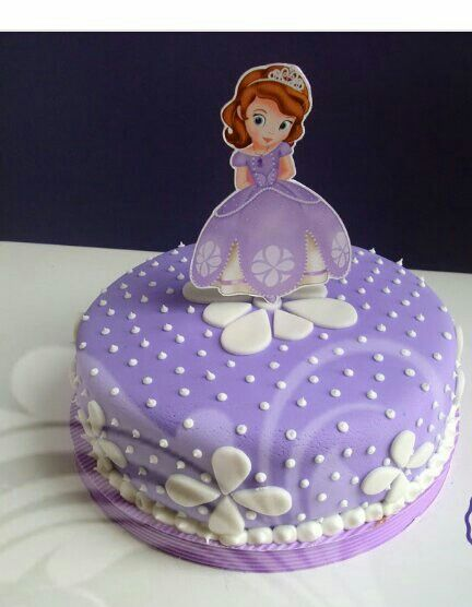 Cake Sofia The First Sofia Birthday Cake Sofia The First Cake