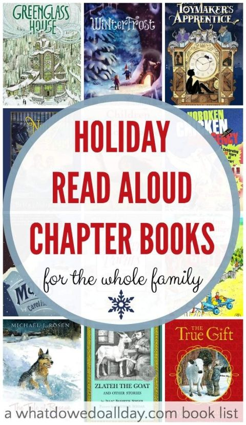 16 Festive Holiday Read Aloud Chapter Books (the whole family will enjoy)