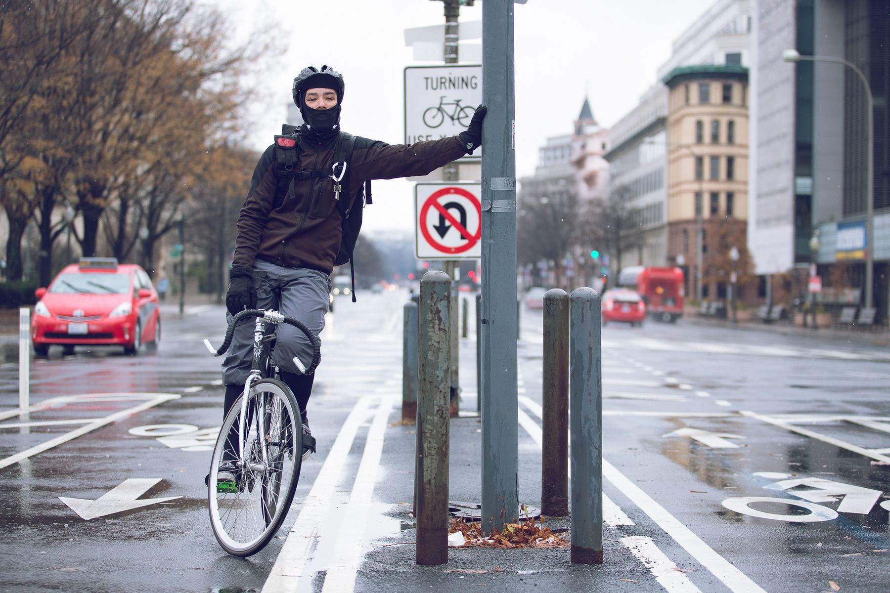 Bike Messengers Washington Dc Editorial Corporate Photographer