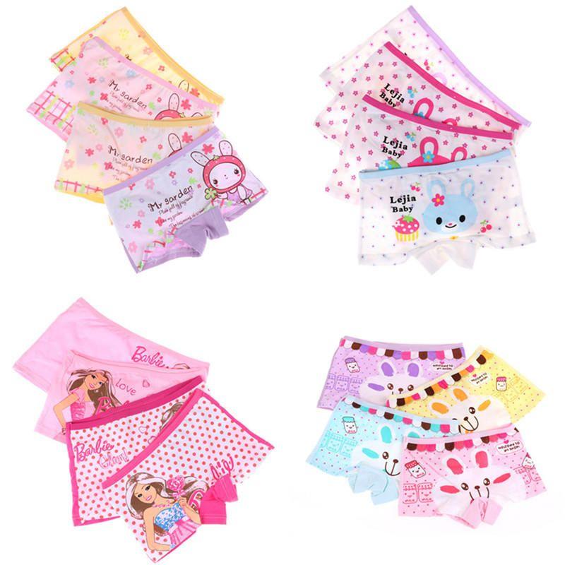 a1b201dc6 1Pc Kids Underwear Cartoon Baby Girls Short Panties Children Briefs Gift  Visual Arts-buy at