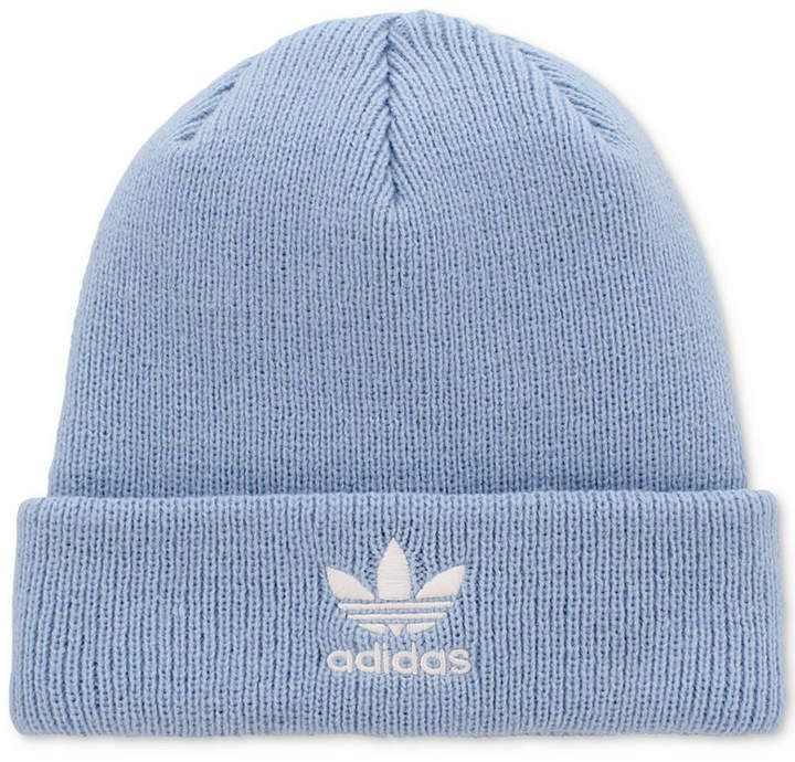 a9f7ad9bb70 adidas Originals Baby Blue Trefoil Knit Beanie ONLY  26