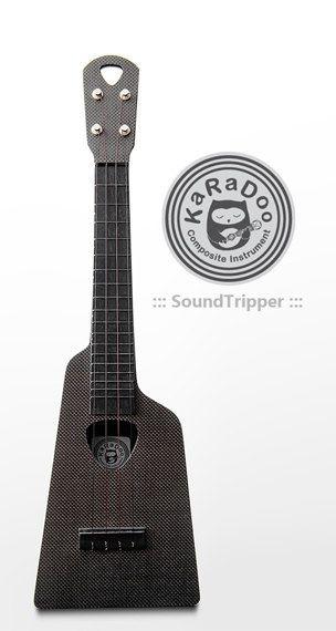 Carbon Fiber Ukulele Composite Sound Tripper by Karadoocomposite, $500.00