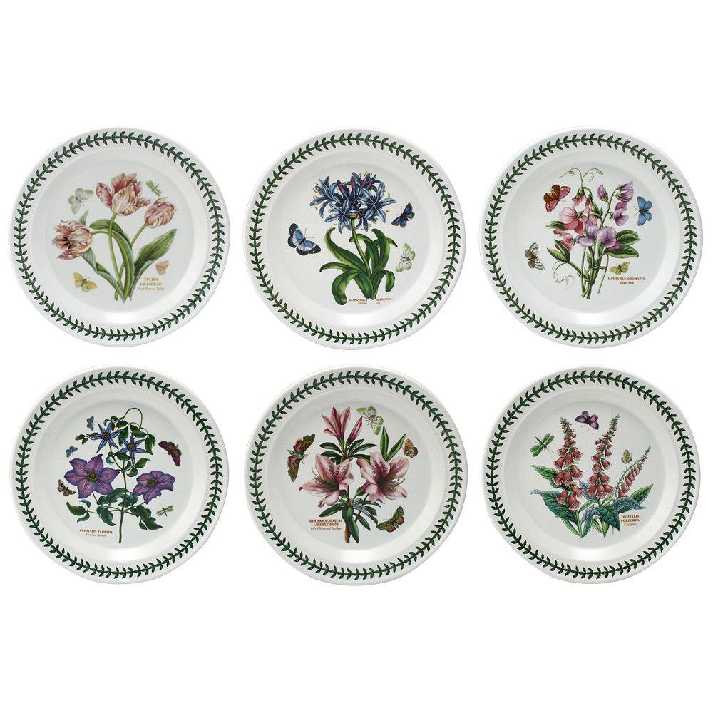Portmeirion - Botanic Garden Dinner Plate Set 6pce | Peteru0027s of Kensington  sc 1 st  Pinterest & Portmeirion - Botanic Garden Dinner Plate Set 6pce | Pinterest ...
