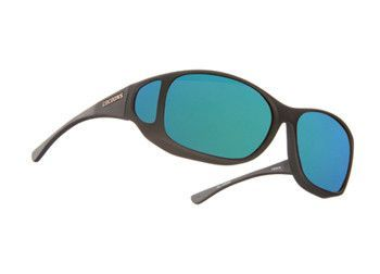 8aa22f5492 Cocoons Style Line Sunglasses (MX) - Soft Touch Black Frame - Polaré  Polarized Green Mirror Lenses