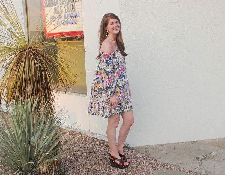 Mink Pink Smells Like Summer Dress | Southern Elle Style | Dallas Fashion Blogger