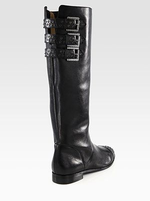 1a2e4ec1ed54 Rebecca Minkoff - Rogan Leather Grommet Detail Riding Boots - Saks ...
