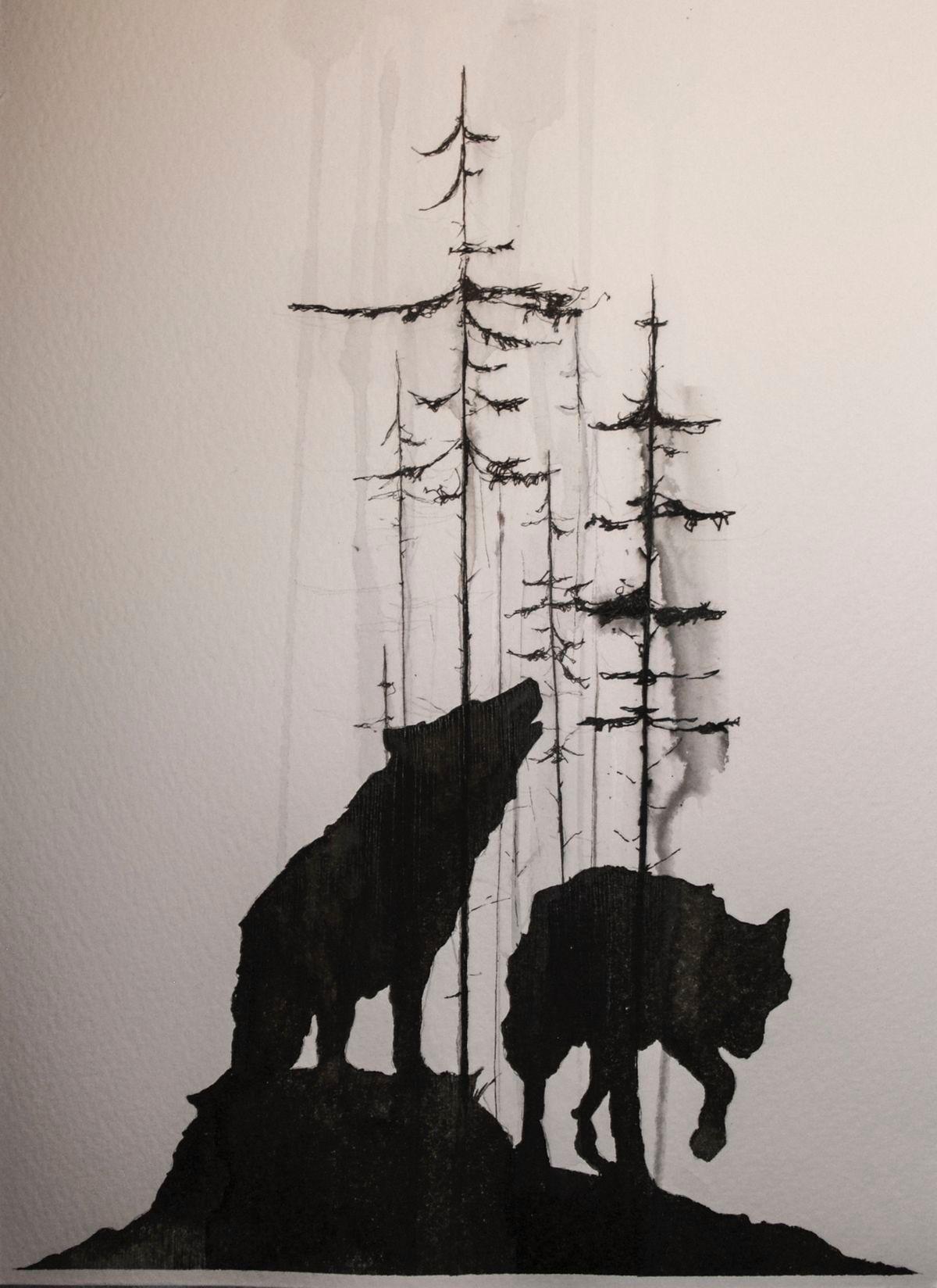 Pin by Julie Dillard on Wolves Pinterest Tattoos Wolf tattoos