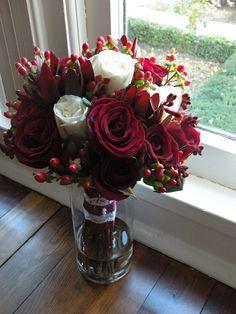 Black Rose Bridal Bouquet