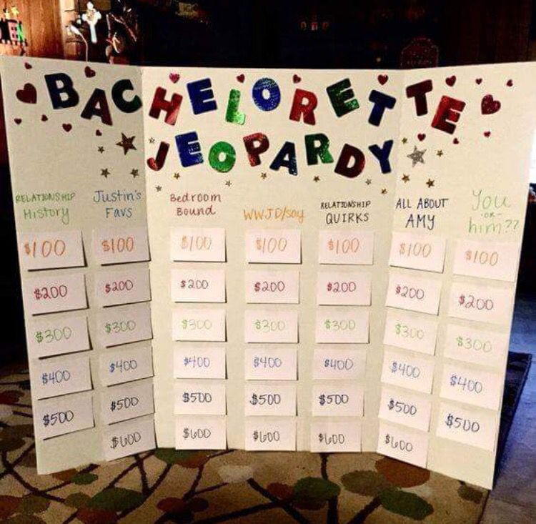 Engagement Party Games: Fun, Appropriate , Bachelorette Party Idea!
