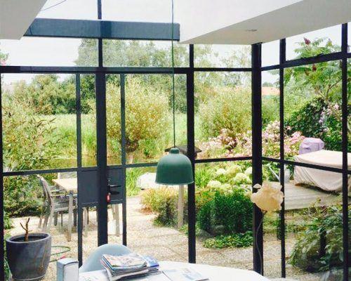 Minimalistisch Interieur Serre : Serre daklicht  interieur