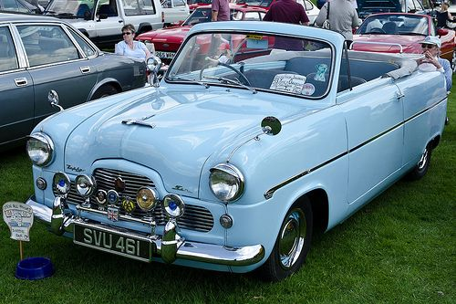 Ford Zephyr Convertible 1955 Ford Zephyr Classic Cars British