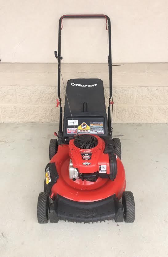 Troy Bilt Tb110 140cc 21 In Gas Push Lawn Mower With Briggs Stratton Engine Sold Available At Gadgets And Push Lawn Mower Lawn Mower Outdoor Power Equipment