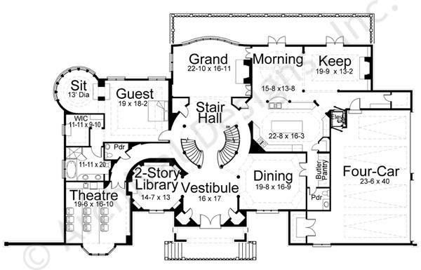 Dysart Castle Castle House Plans Castle House Country House Plans