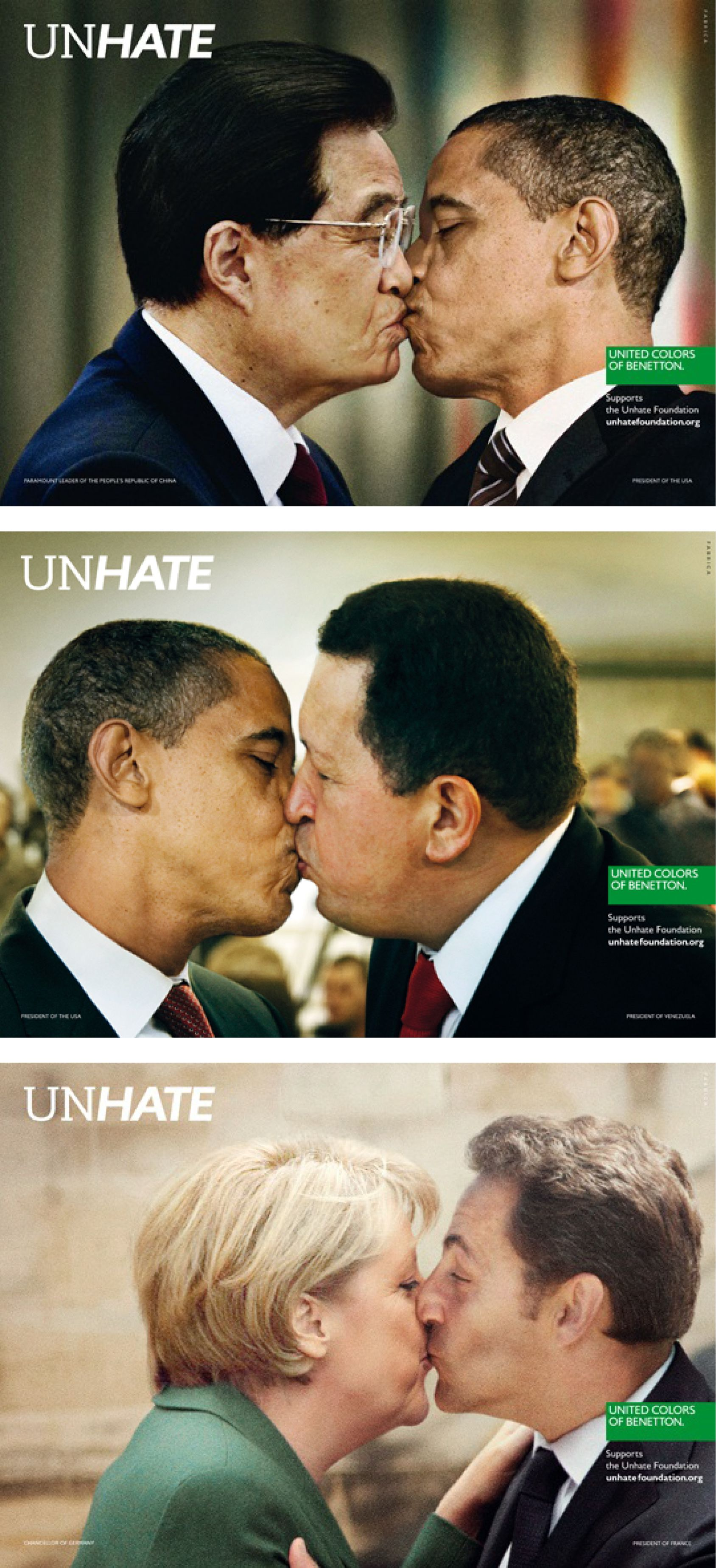 2012 - CLIO - Print - Gold - United Colors of Benetton Unhate Los Angeles -  Art Director  Robert Nakata 2f76b7e6d16