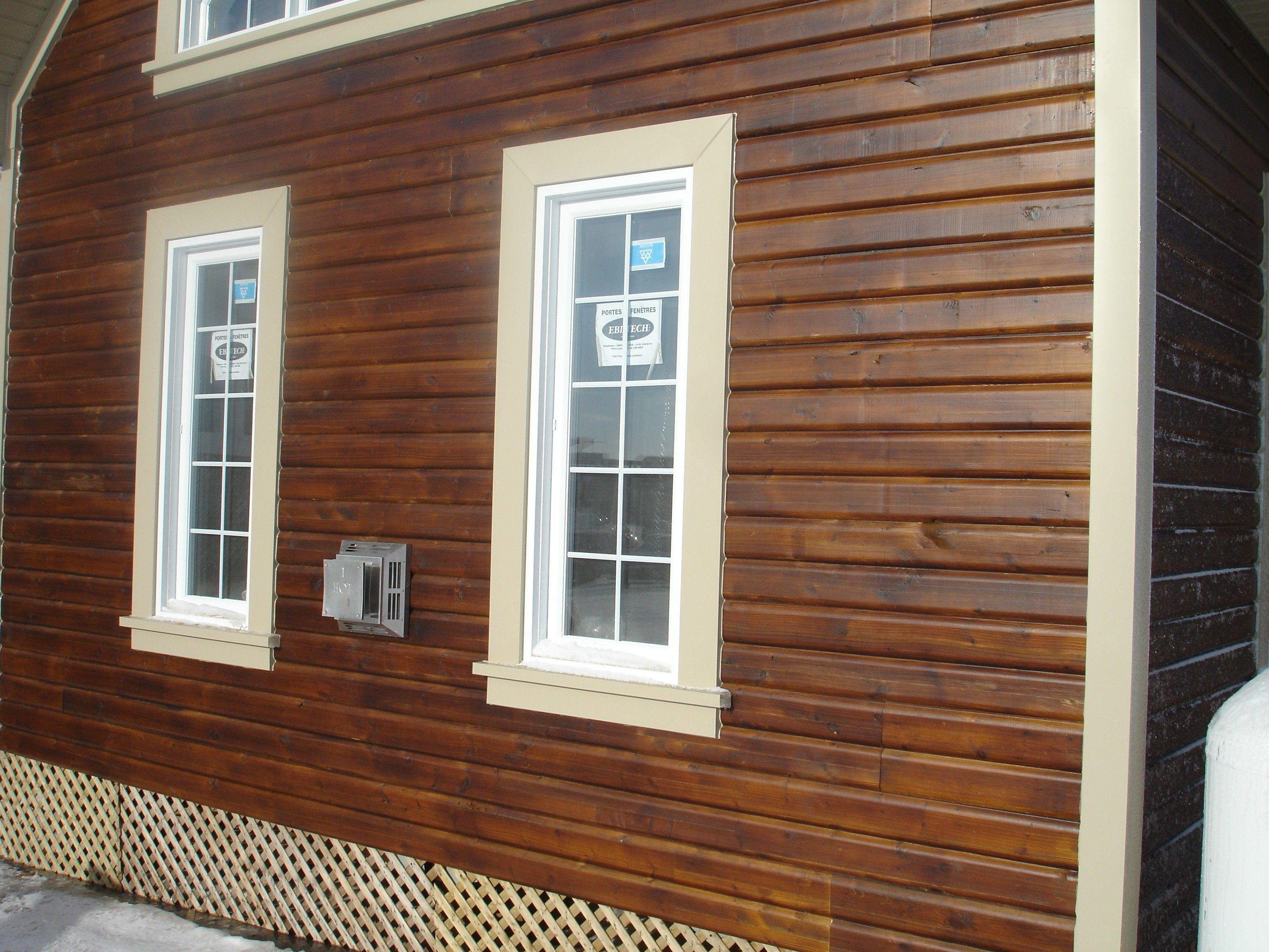 Lamwall Natural Exterior And Interior Wood Siding Vinyl Siding Exterior House Remodel House Siding