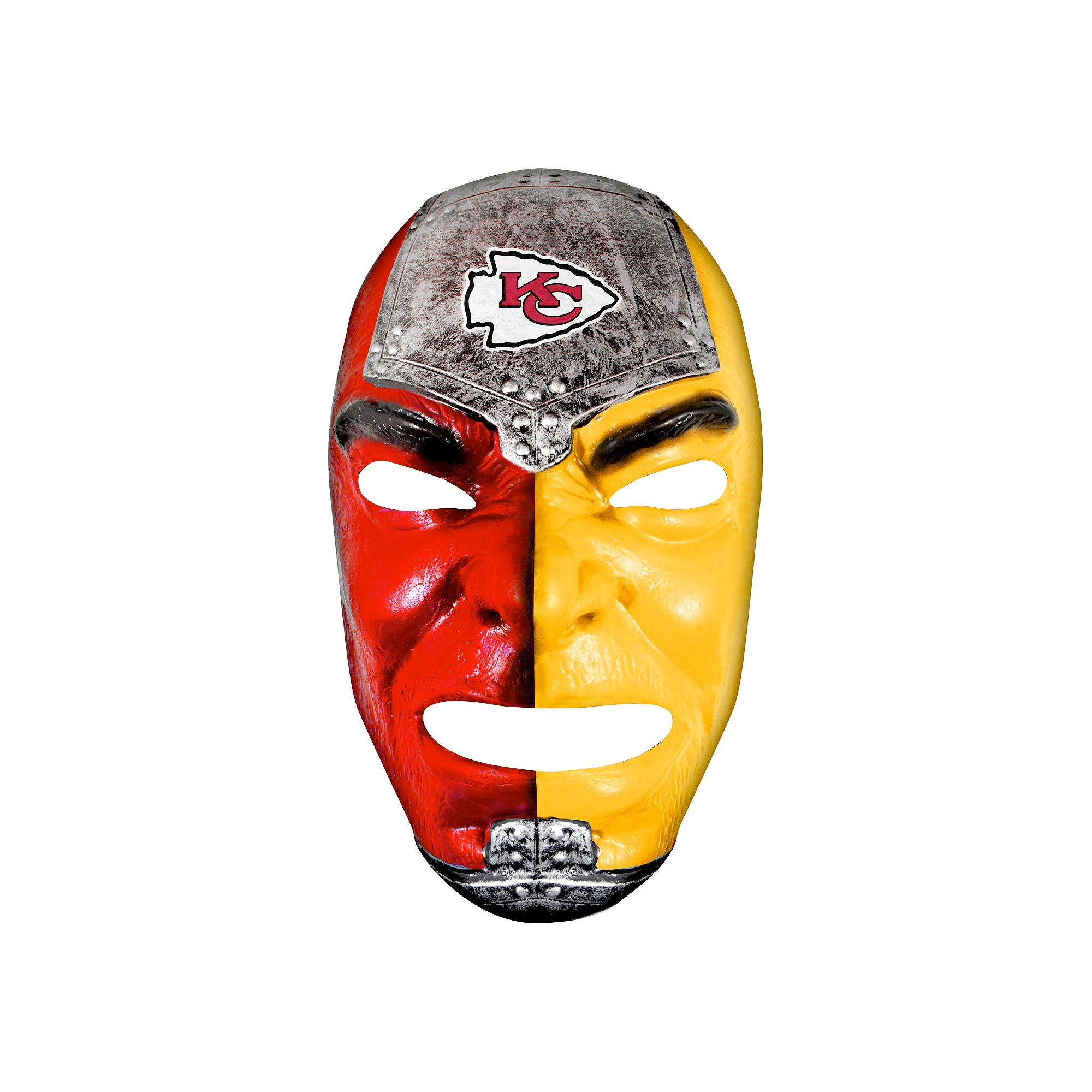 Kansas City Chiefs Franklin Sports Fan Face Mask Men S Blue Fan Faces Nfl Fans Franklin Sports