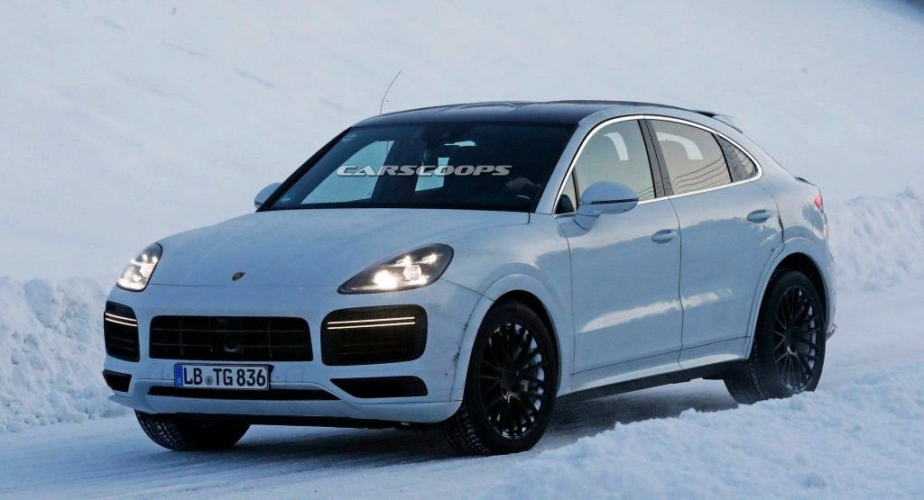 Working On New Cayenne Coupe Flagship And Heres More ProofPorsche Working On New Cayenne Coupe Flag