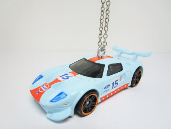 Hot Wheels   Ford Gt  Race Car Cast Car By Maximumhobbies