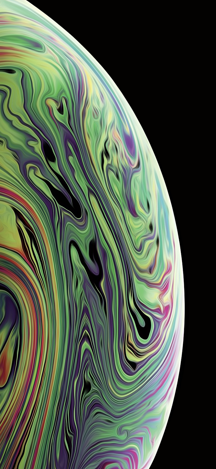 iPhone XS / XS MAX V3/V4 Wallpaper by AR72014 Apple