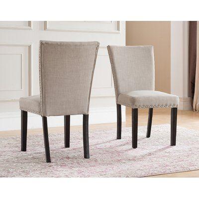 Red Barrel Studio Claret Upholstered Dining Chair Upholstered